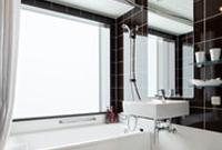 天井高約2200mmのバスルーム